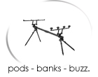 pods - banks - buzz - rests